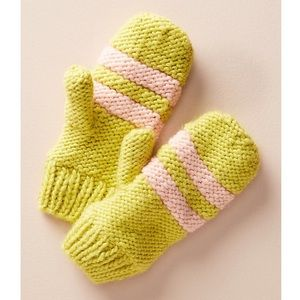 Anthropologie Fleece Lined Outbound Mittens